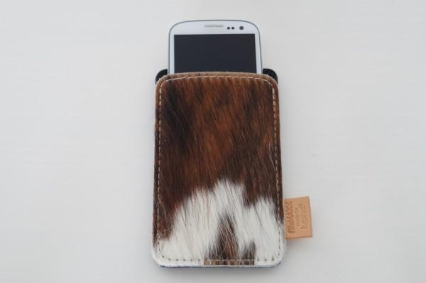 Smartphone Etui XXL aus Kuhfell