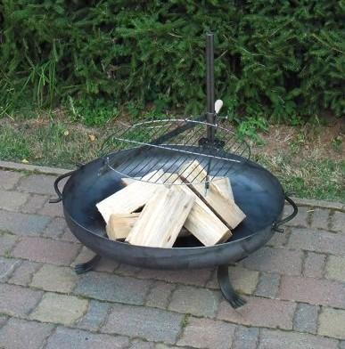 Grill Fuss für Feuerschale