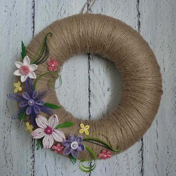 "Kranz FLOWERS ""⦰ 24 cm"""